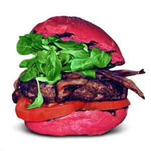 Red Bacon Burger Burger Lover